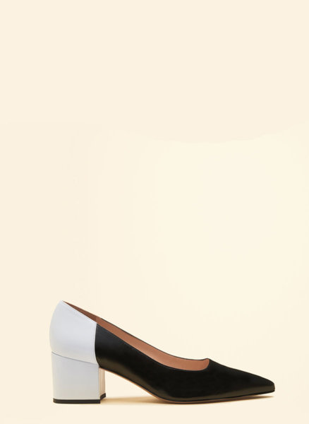 Кожени обувки на ток