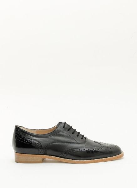 Oxford обувки от естествена кожа