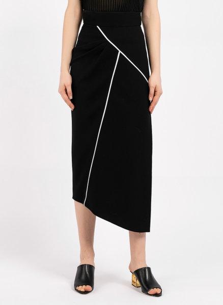 Асиметрична пола с кант