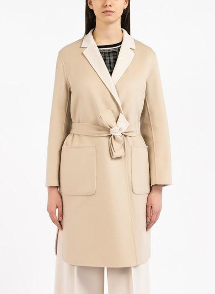 Двулицево палто от вълна