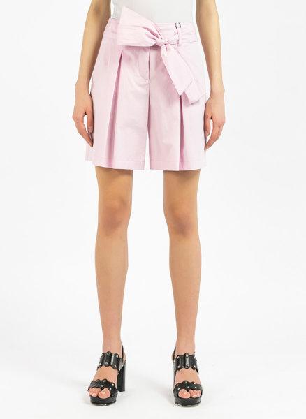 Разкроени къси панталони с панделка