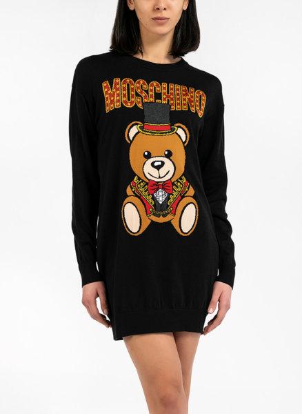 Памучен пуловер Teddy Bear