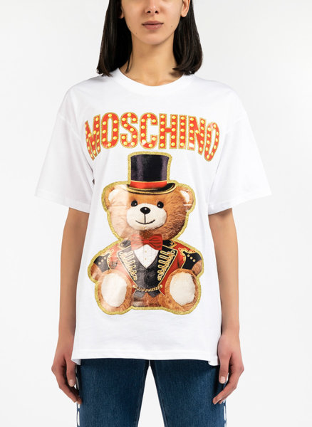 Oversized Тишърт Toy Bear