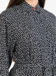 Рокля тип риза с принт Stars