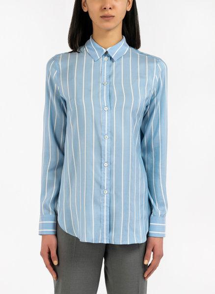 Копринена риза с райе