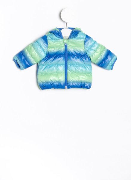 Многоцветно пухено яке