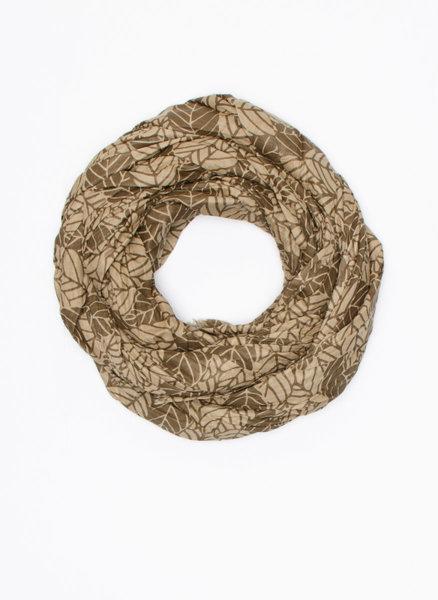 Памучен шал с принт