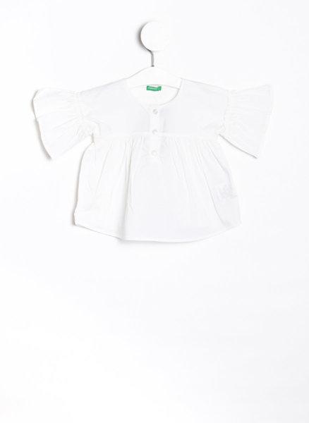 Блуза с волани