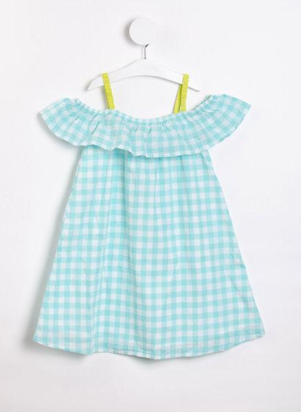 Карирана рокля