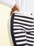 Панталон с раиран принт