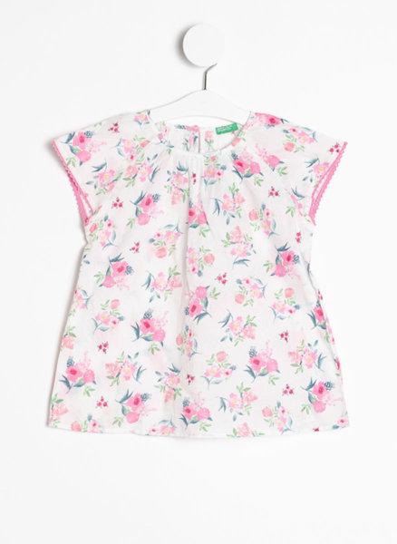 Памучна блуза с принт