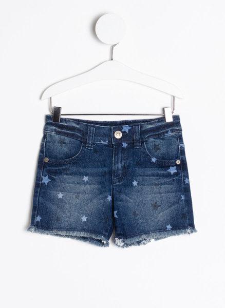 Дънкови панталони с принт