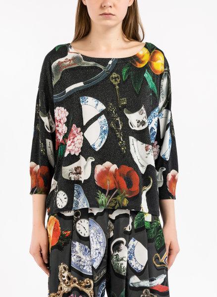 Блуза с тематичен принт