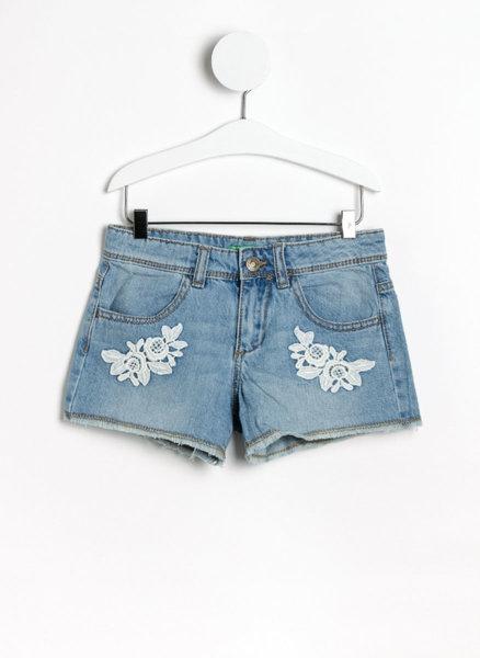 Къси панталони от деним