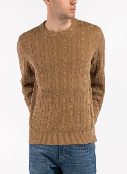 Пуловер с лен