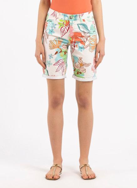 Къси панталони с флорален принт
