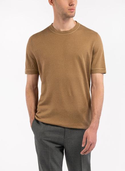 Блуза с контрастен кант