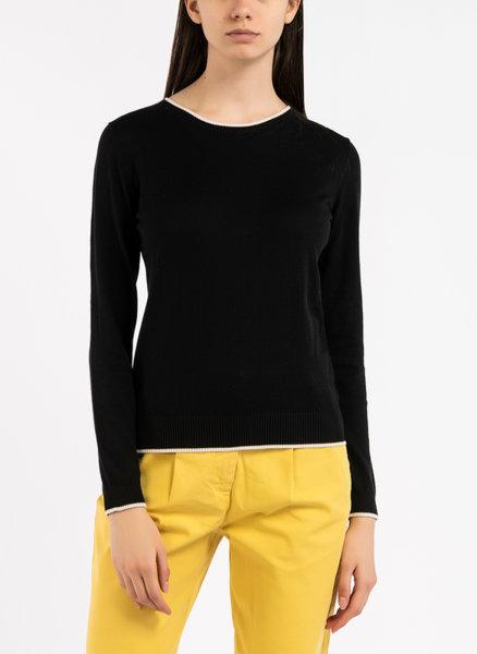 Копринен пуловер