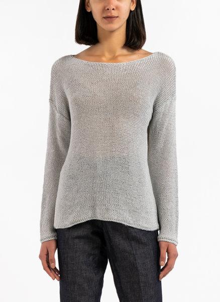 Контрастен пуловер
