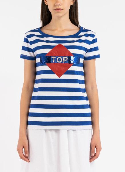 Тениска с апликация