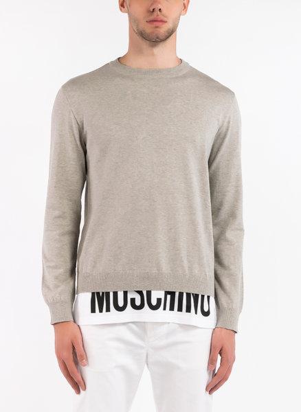 Пуловер с 'layer' ефект