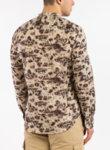 Памучна риза с принт