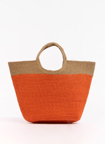Лятна чанта Color block