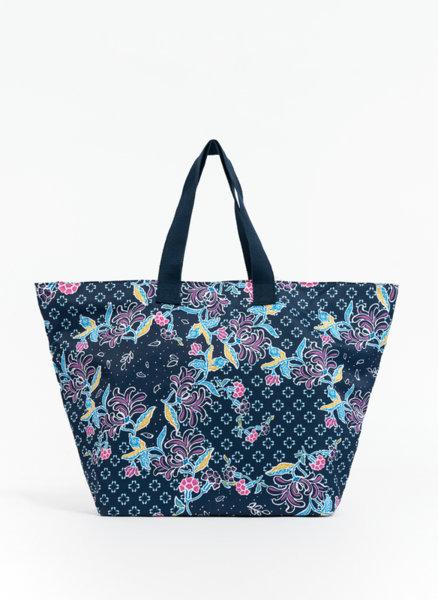 Чанта с флорален принт