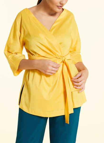 Блуза от поплин