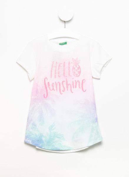Тениска с флорален принт