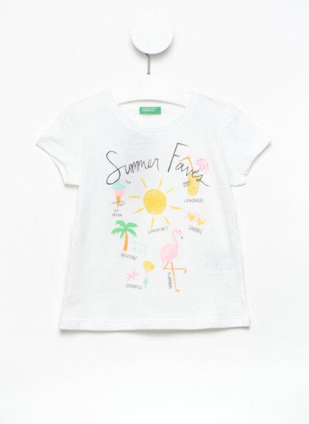 Тениска с тематичен принт