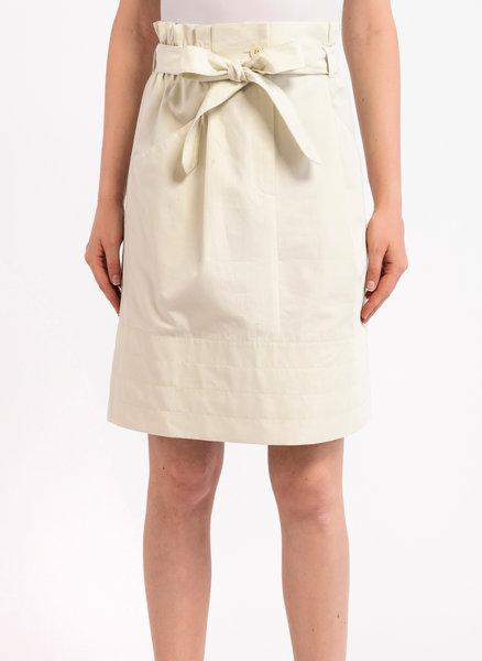 Памучна пола с рюш
