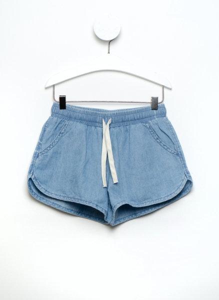 Къси панталони с деним ефект