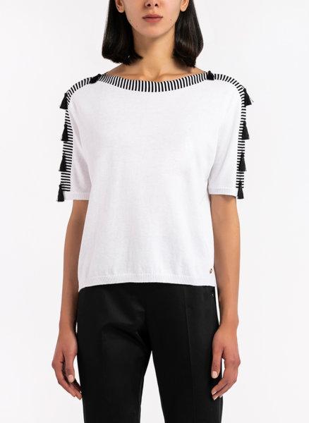 Блуза с пискюли