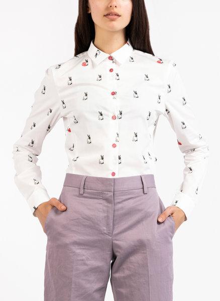 Риза с Rabbit Scribble принт