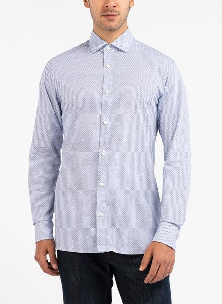 Риза с тематичен десен