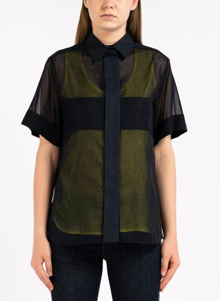 Риза с къс ръкав