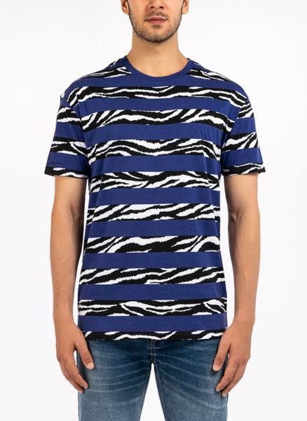 Памучна тениска с принт