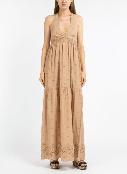 Дълга памучна рокля Sangallo