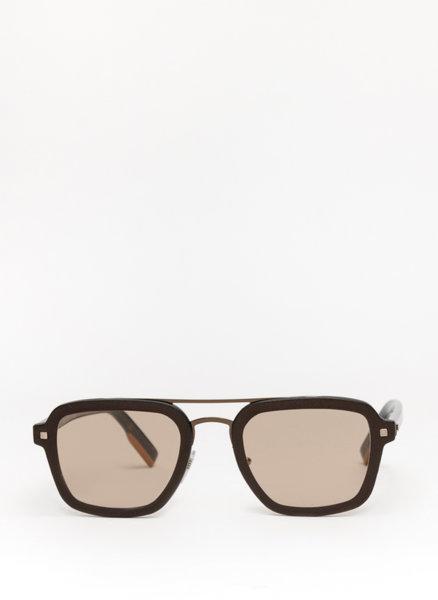 Слънчеви очила с кожа