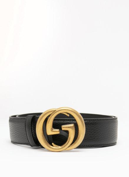 Колан със златиста GG катарама