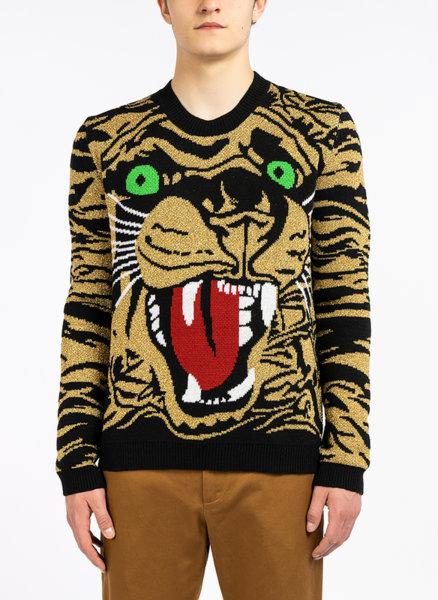 Пуловер с ламе