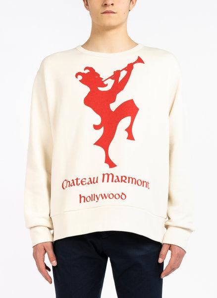 Блуза с Chateau Marmont принт