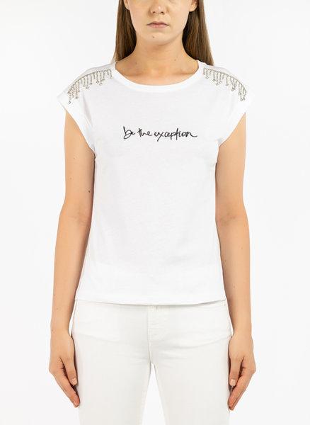 Тениска с декорация
