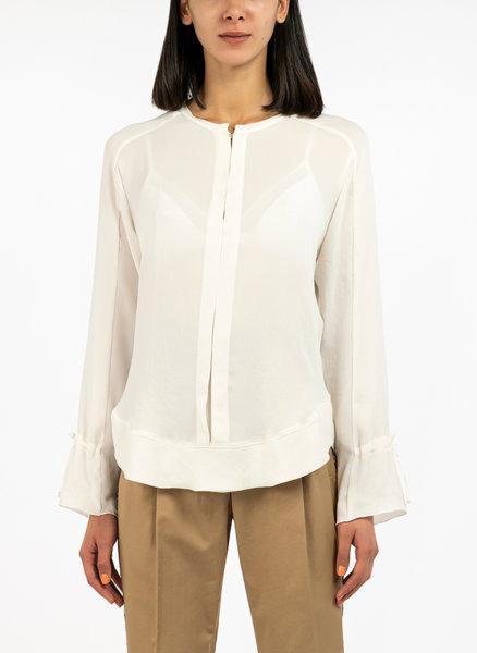 Блуза с панделки