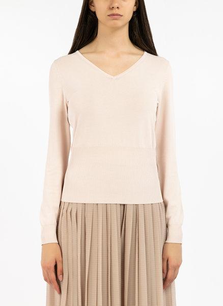 Блуза от плетена материя