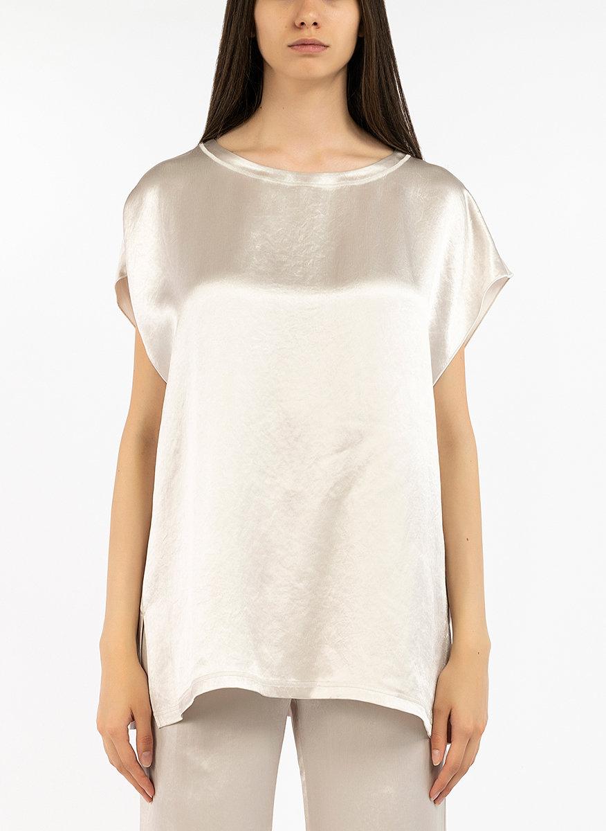 Блуза от сатенена материя-Copy