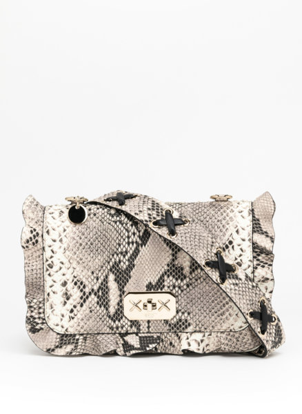 Чанта с принт питон