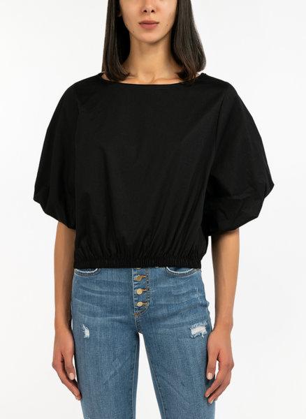 Тениска с широк ръкав