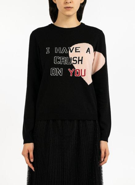 Пуловер с ангора и кашмир